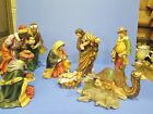 Nativity Figurine Set Large Ceramic