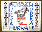 Spencer TRACY original 1958 poster THE LAST HURRAH JOHN FORD director