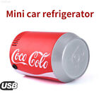 3CB8 Portable Multicolor Coca Cola Type Shape Mini Car Auto Can Sized Refrigerat
