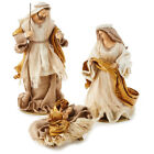 Fabric Holy Family Nativity Set 3 Pieces New in box freeship