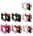 Cute Hello kitty For Apple Watch iwatch Silicone Series 4 Case Cover 40mm 44mm