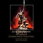 CONAN THE BARBARIAN 2CD - Poledouris OST CD RARE OUT OF PRINT n°412 SEALED!!!