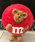 M&M Collector Red Peeker Bear Figurine [Boyds Bears + Mars, Inc.] - No Chips