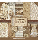 Stamperia Double Sided Paper Pad 12X12 10 Pkg Old Lace 10 Designs 1 Each