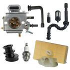Chainsaw Carburetor Kit Carb Parts + Air Filter Fits For Stihl MS290 MS310 MS390