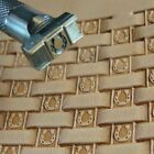 James Linnell Horseshoe Basket Weave Stamp Leather Stamping Tool