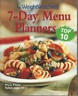 Weight Watchers 7 Day Menu Planners Top 10 by Weight WatchersPaperback