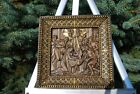Nativity WOOD CARVED ICON RELIGIOUS GIFT WALL HANGING ART WORK CHRISTMAS GIFT