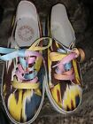Penelope Chilvers FANTASTIC silk IKAT print sneakers 7 280 London HALF PRICE