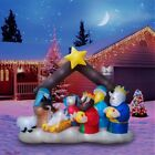Nativity Decorations Outdoor Large Christmas Giant Inflatable Lighted Home New