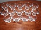 Anchor Hocking Boopie Berwick 14 Juice or Wine Clear Footed Glasses 4oz