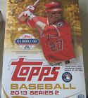 2013 TOPPS BASEBALL CARDS HOBBY BOX SERIES 2