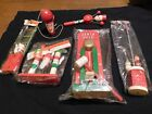 COLLECTION OF WOODEN HOLT HOWARD JAPAN SANTA TOYSSOME IN PACKAGING