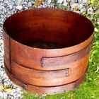 Antique Shaker Stained Oval Three finger NO LID 17' Diameter x 9