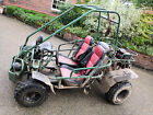 Off road petrol go kart buggy with trailer