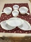 Vintage Lot of 7 Fire King / Anchor Hocking White Milk Glass.