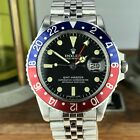 1972 Vintage Rolex GMT Master 1675 Pepsi With MkIII Dial