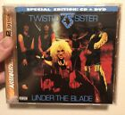 Twisted Sister cd & dvd Combo Rare under the blade (special edition) Germany
