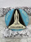 1981 SPACE SHUTTLE COLUMBIA PIN BACK BUTTON