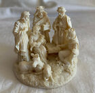 Small Nativity Set w 3 Wise Men Christmas Holiday 3 across
