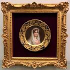 Austrian Royal Vienna Painted Portrait Plate Signed Wagner Titled Josephine