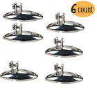 Quick Release Bimini Top Swivel Hinge Deck Side Mount 316 Stainless Steel 6 Pack