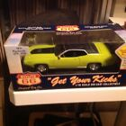 ROUTE 66 GET YOUR KICKS 118 DIE CAST SCALE CAR 1971 PLYMOUTH GTX 440