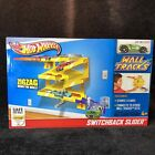 Hot Wheels Wall Tracks Switchback Slider 2012 NEW in Sealed Box Car Included