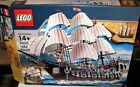 Lego 10210 PIRATES ~ IMPERIAL FLAGSHIP ~ 9 Minifigs  New In Opened Box  Retired