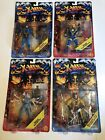 Toy Biz X men Figures Lot Wolverine Fang Maverick Havok Spiral 1995 New