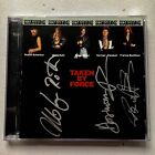 SCORPIONS - TAKEN BY FORCE HAND SIGNED CD ALBUM AUTOGRAPHED