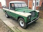 1968 LANDROVER SERIES 2A 109 DIESEL PICK UP RUNNER UNUSUAL BODY WORK ONE OFF