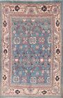 All Over Design Decorative 7x10 Sultanabad Mahal Area Oriental Blue Rug