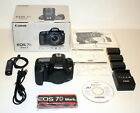 Canon EOS 7D Mark II 202 MP DSLR Camera Body w Remote Switch RS 80N3 9128B002