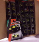 KKar Matchbox 2014 Basic 1 120 MB044 Cliff Hanger Lime Yellow Case Lot