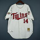 100% Authentic Kent Hrbet Mitchell & Ness Twins MLB Jersey Size 48 XL Mens