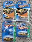 HOT WHEELS TREASURE HUNT FORD MUSTANG GT SHELBY GR 1 CONCEPT NEW RARE LOT OF 4