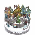 Christmas LED Musical Light Up Sculpture Ornament Nativity Xmas Decorations