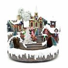 Christmas LED Musical Light Up Ornament Nativity Xmas Home Decorations