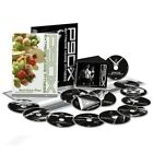 P90X Extreme Home Gym Fitness Beachbody Workout 12 DVD Set Nutrition Guide Books