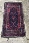 Antique Pink Tribal pattern Genuine Hand Woven Rug Rich Color Wool