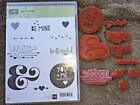 Stampin Up YOU PLUS ME stamp set heart love sweet