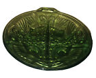 Art Glass Divided Candy Dish 7.5