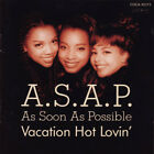 A.S.A.P. (AS SOON AS POSSIBLE) Vacation Hot Lovin' JAPAN CD COCA-10372 1992 NEW