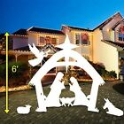 EasyGO EGP NAT 002 Giant 6 Foot Outdoor Nativity Scene Large Christmas Yard Deco