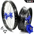 KKE 1.85*21/4.25*17 WHEELS RIMS SET FOR BMW F800GS ADVENTURE 2008-2017 BLUE NIP