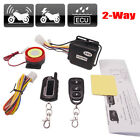 Motorcycle Anti-theft Alarm 2-way Security System Remote Control Engine Start