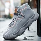 Mens Basketball Shoes Fashion Casual Sport Training Athletic Sneakers Vogue New