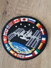 ISS International Space Station Badge Embroidered Patch