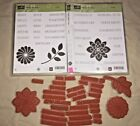 Stampin Up CRAZY ABOUT YOU Double stamp set flowers greetings for holidays mom